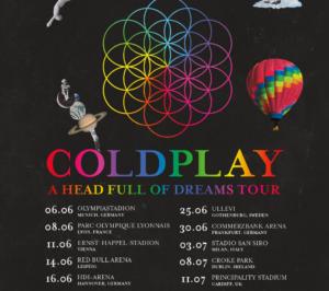 biglietti coldplay ticketone esauriti sold out