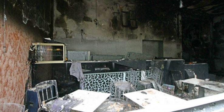 esplosione bar milano