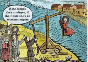 migranti goro gorino razzismo