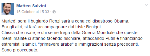 salvini obama renzi