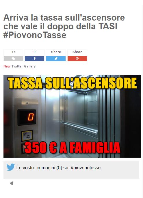 tassa ascensori girolamo pisano grillo m5s