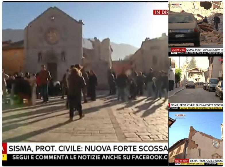 terremoto basilica san benedetto norcia crollata-1