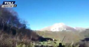 terremoto cacciatori monte vettore