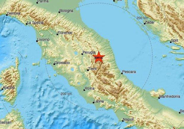 terremoto macerata