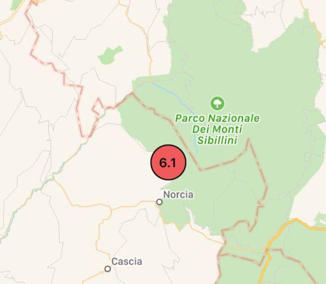 Terremoto, scossa 7.1 in centro Italia: avvertita a Roma e provincia