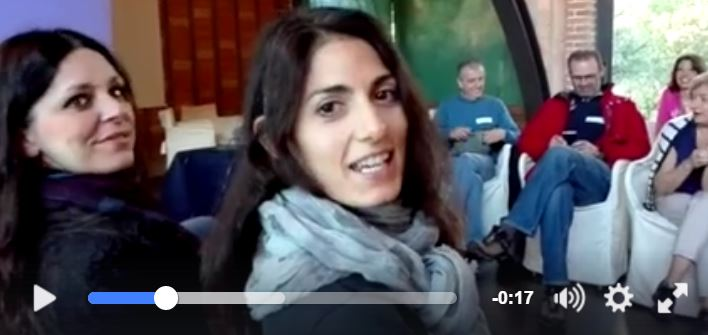 virginia raggi video cancellato