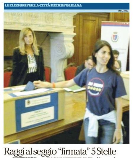 Virginia Raggi: il sindaco di tutti con la maglietta dei 5 Stelle