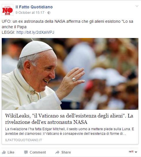 wikileaks ufo papa - 1