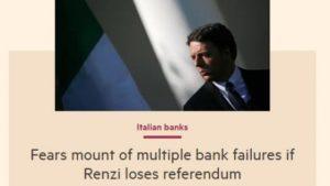 banche a rischio referendum