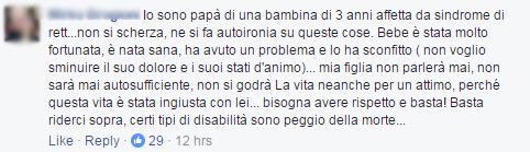 bebe vio disabili ridere