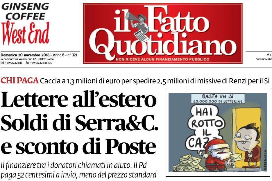 davide serra matteo renzi lettera-italiani