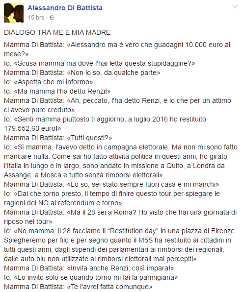 di battista mamma referendum