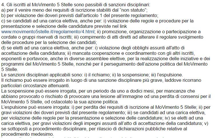 firme false movimento 5 stelle