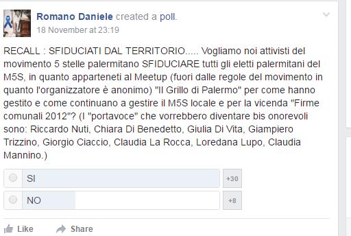 M5S: firme false Palermo, domani interrogatorio deputata indagata Di Vita