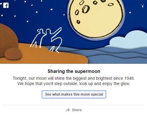 superluna 14 novembre foto