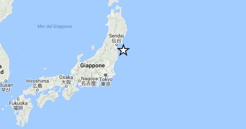 terremoto allarme fukushima