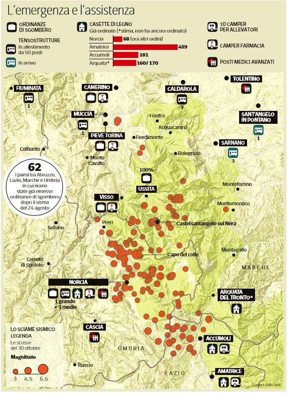 terremoto emergenza assistenza