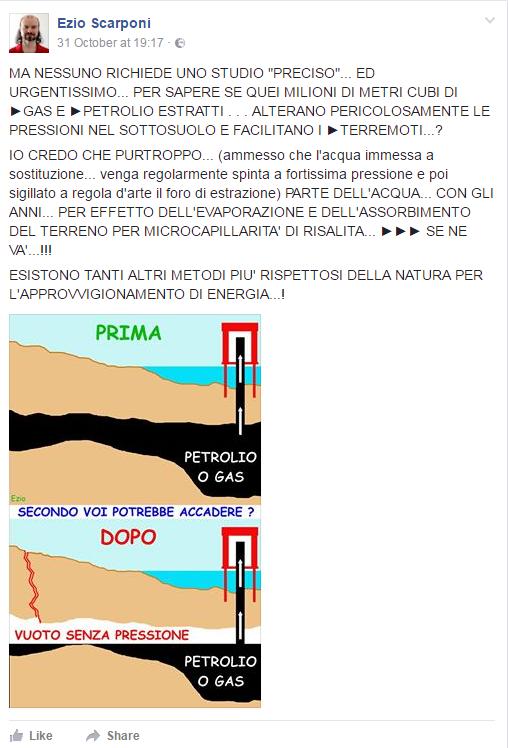 trivelle terremoto fracking marche adriatico