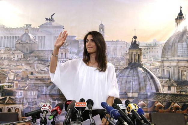 virginia raggi vittoria crisostomi