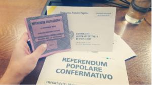 voto italiani all'estero referendum costituzionale