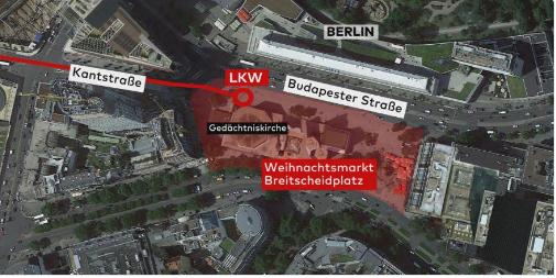 Berlino, tracce satellite: per 4 ore tentarono mettere in moto Tir