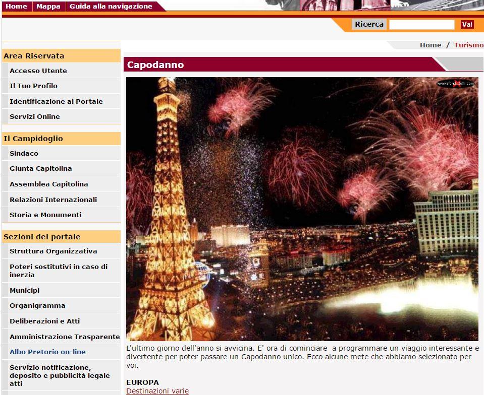 comune roma capodanno parigi