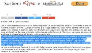 m5s italicum senato