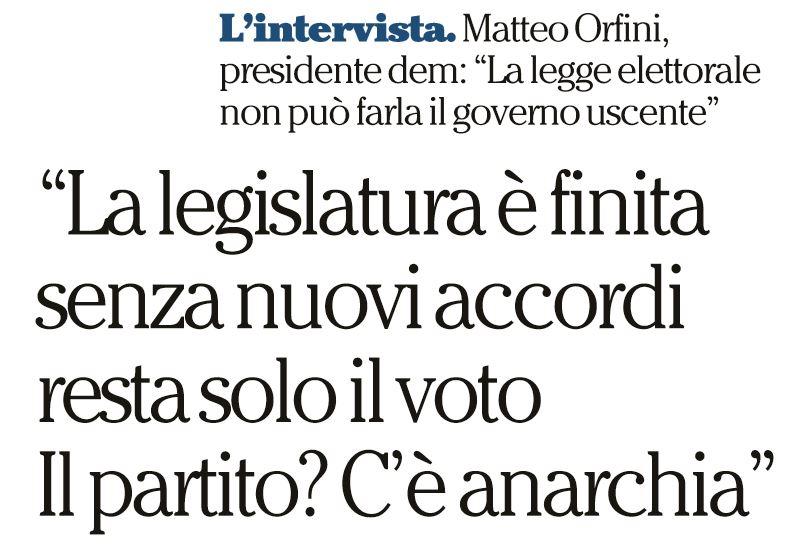 matteo orfini pd