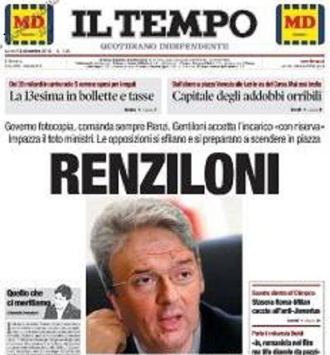 renziloni gentiloni
