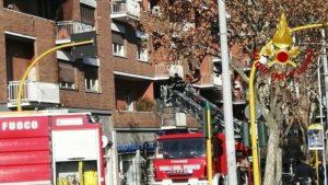 via nomentana incendio-2