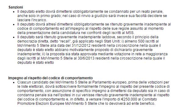 beppe grillo affronte penale europarlamento