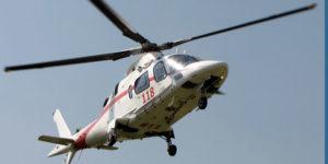 elicottero 118 precipitato capo felice