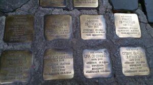 pietra d'inciampo VIII municipio 1