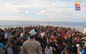 pozzallo migranti