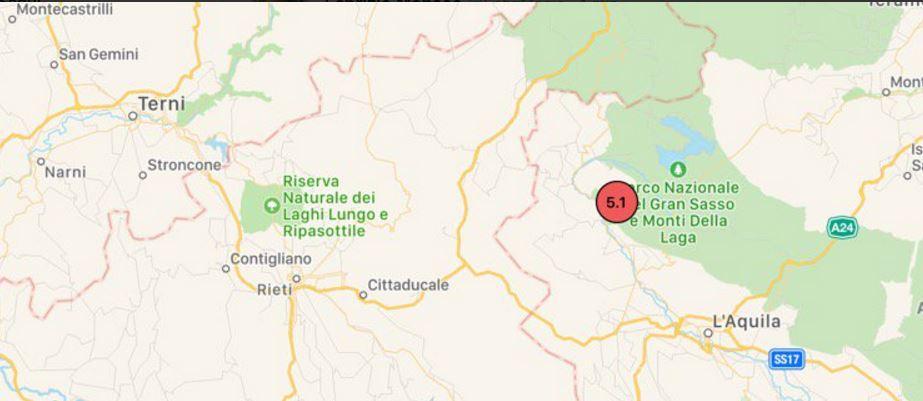 terremoto epicentro