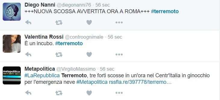 terremoto roma centro italia 2