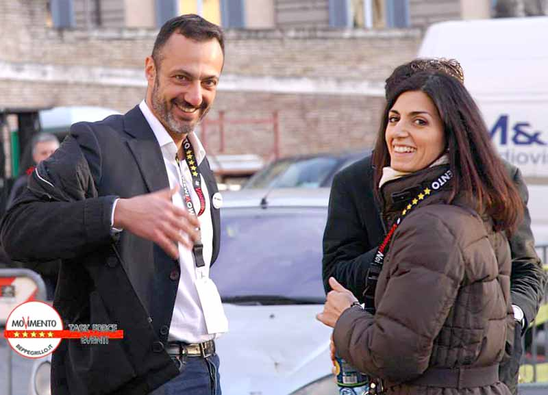 virginia raggi marcello de vito dossier