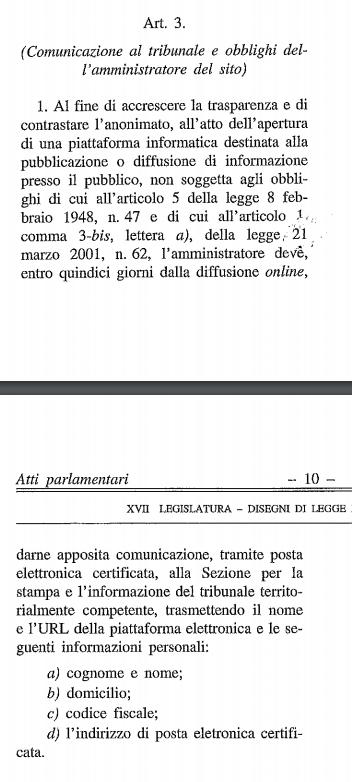 adele gambaro legge fake news senato - 1