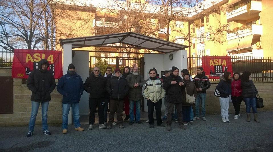 emergenza abitativa roma - 2