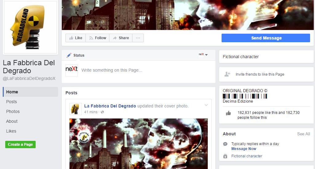 fabbrica del degrado lucarelli facebook rimossa - 3