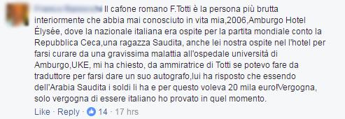 francesco totti insulti stadio roma virginia raggi m5s