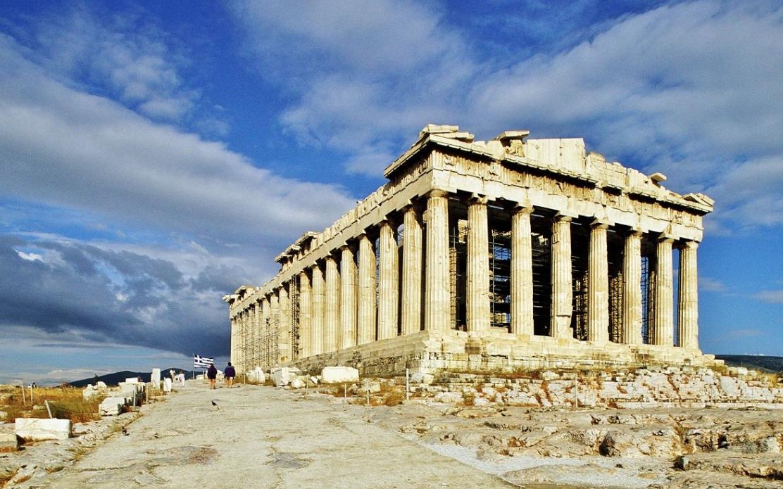 gucci partenone sfilata atene grecia