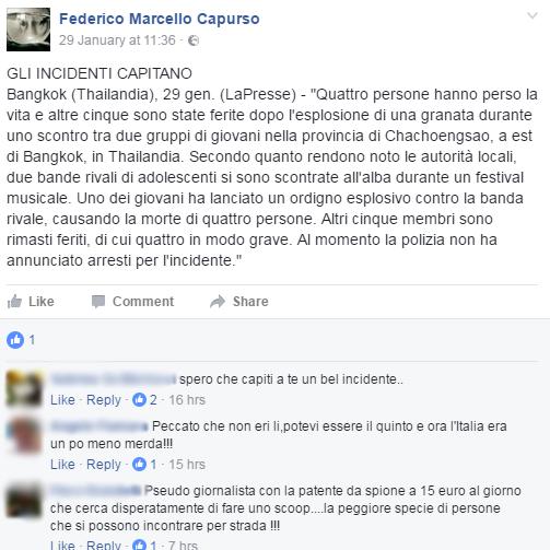insulti capurso m5s