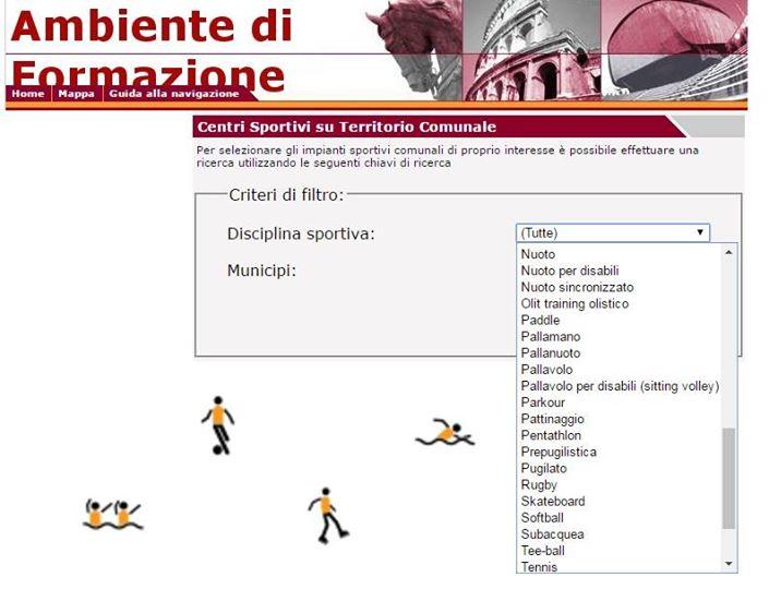 pittogrammi grafico comune roma gratis