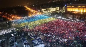romania protesta referendum legge corruzione - 1