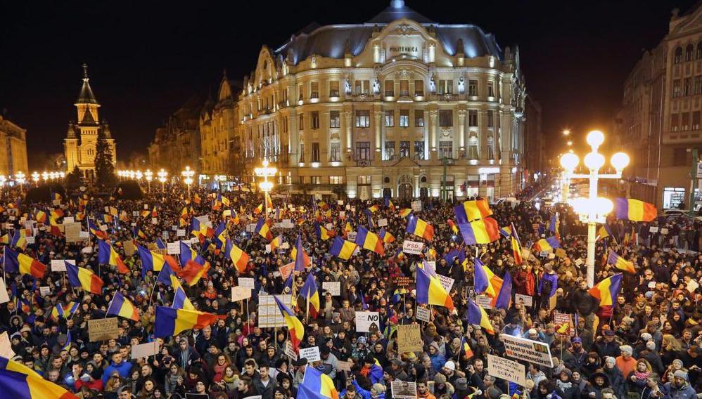 romania protesta referendum legge corruzione