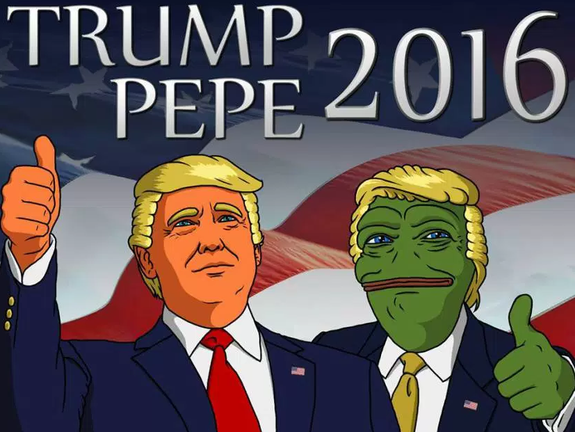 trash doves pepe trump meme alt right - 1