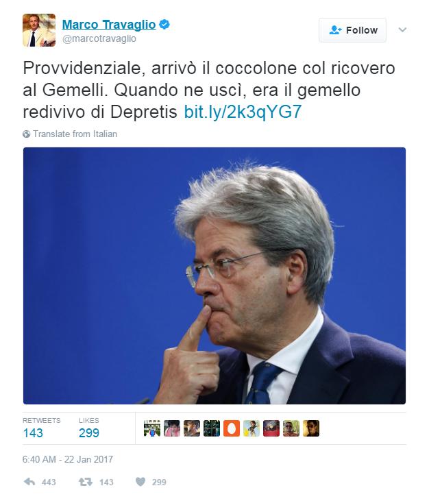 virginia raggi malore complotto - 6