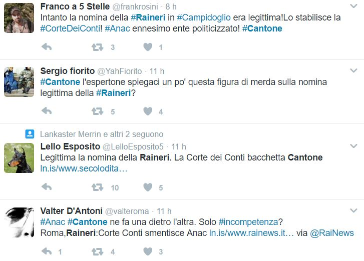 virginia raggi raineri cantone