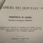 vitalizi richetti di maio di battista legge - 5